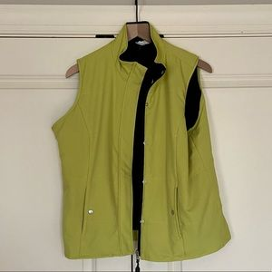 Yellow Outerwear Vest